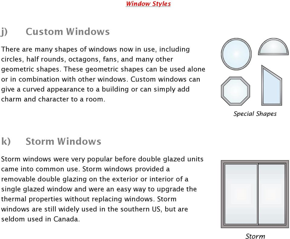 Custom windows can give a curved appearance to a building or can simply add charm and character to a room.