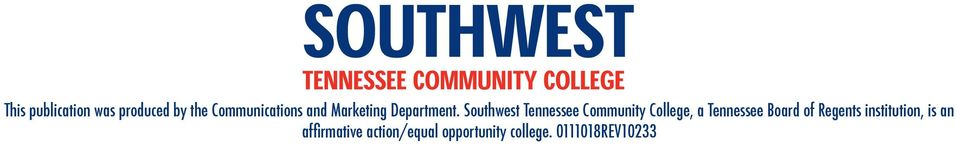 Southwest Tennessee Community College, a Tennessee Board