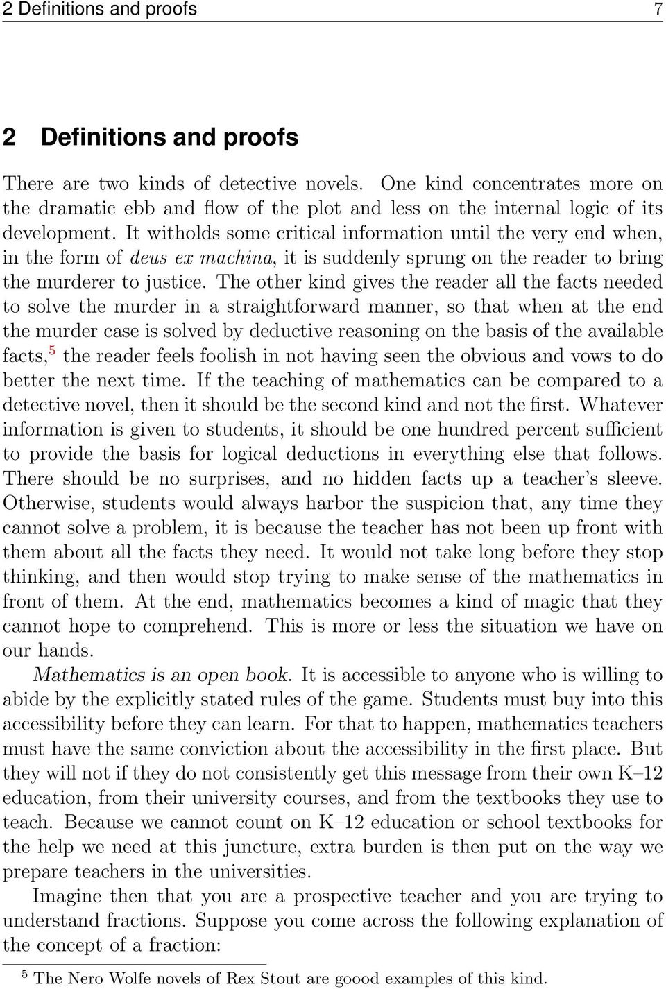 what is so difficult about the preparation of mathematics teachers