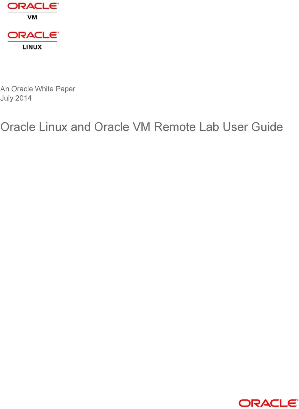 Oracle Linux and