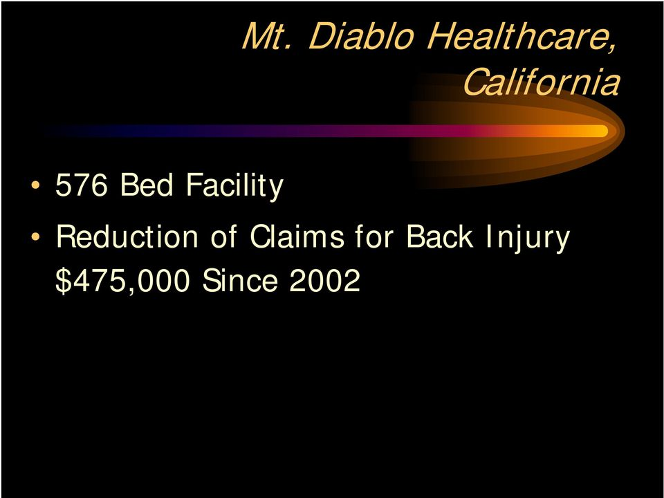 Facility Reduction of