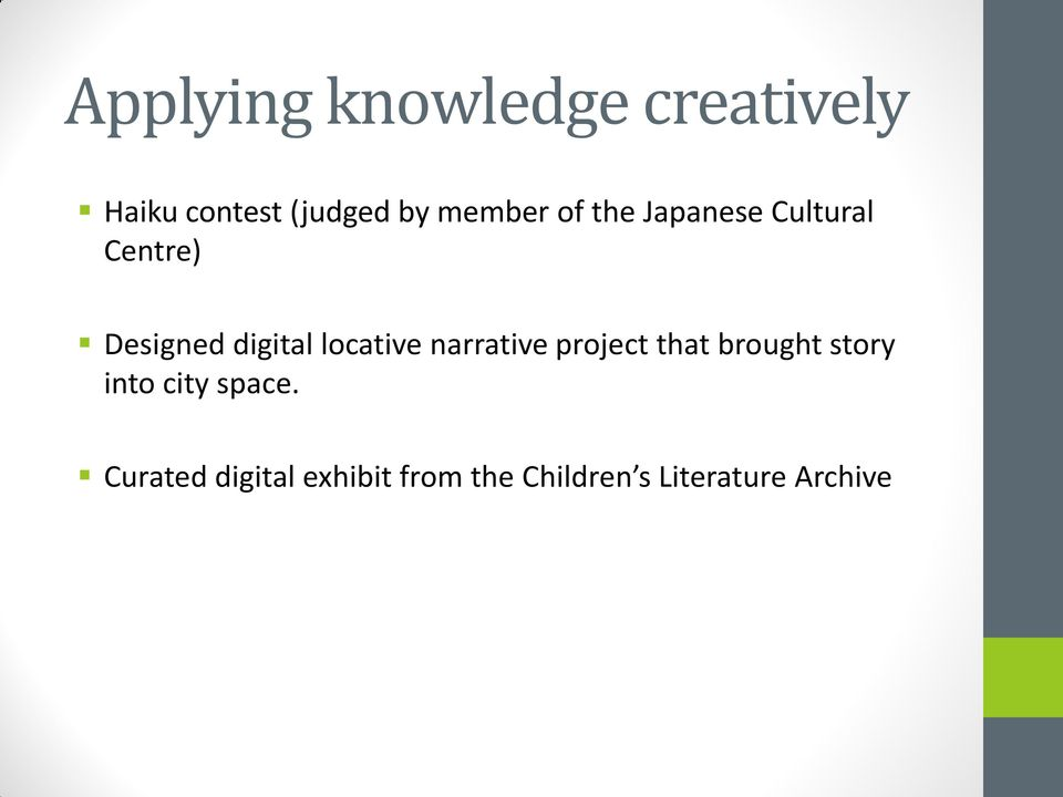 locative narrative project that brought story into city