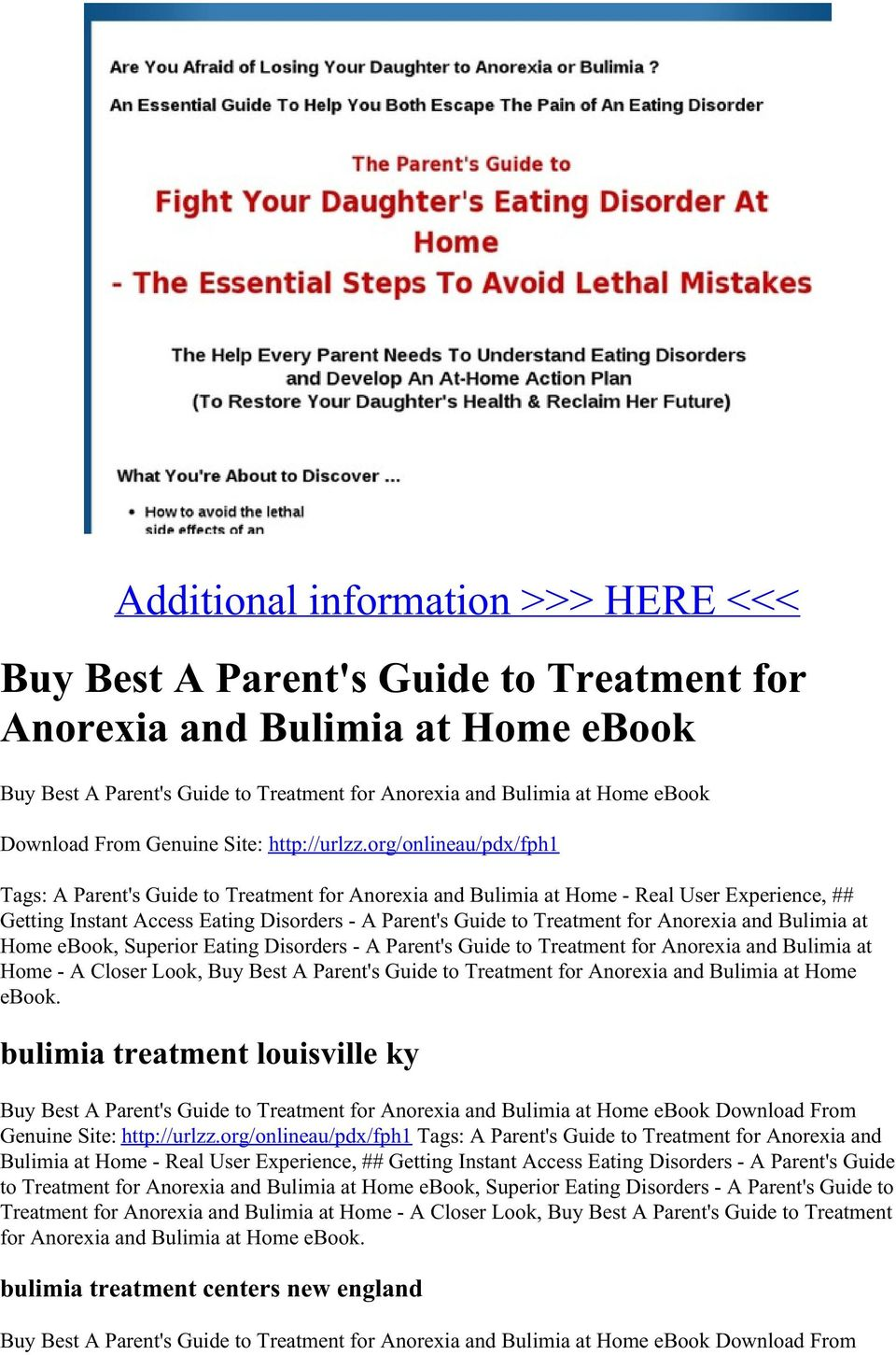 org/onlineau/pdx/fph1 Tags: A Parent's Guide to Treatment for Anorexia and Bulimia at Home - Real User Experience, ## Getting Instant Access Eating Disorders - A Parent's Guide to Treatment for