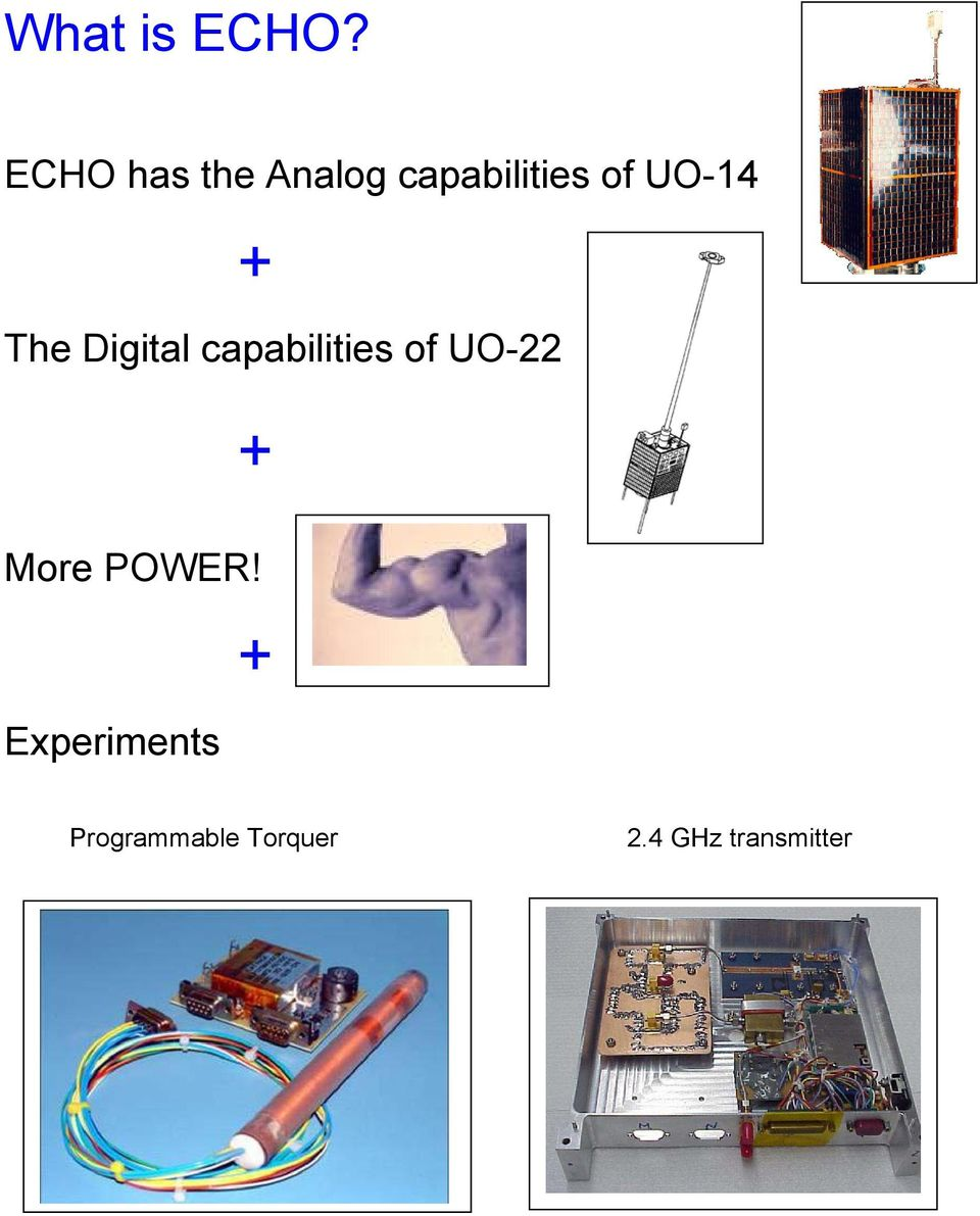 UO-14 + The Digital capabilities of