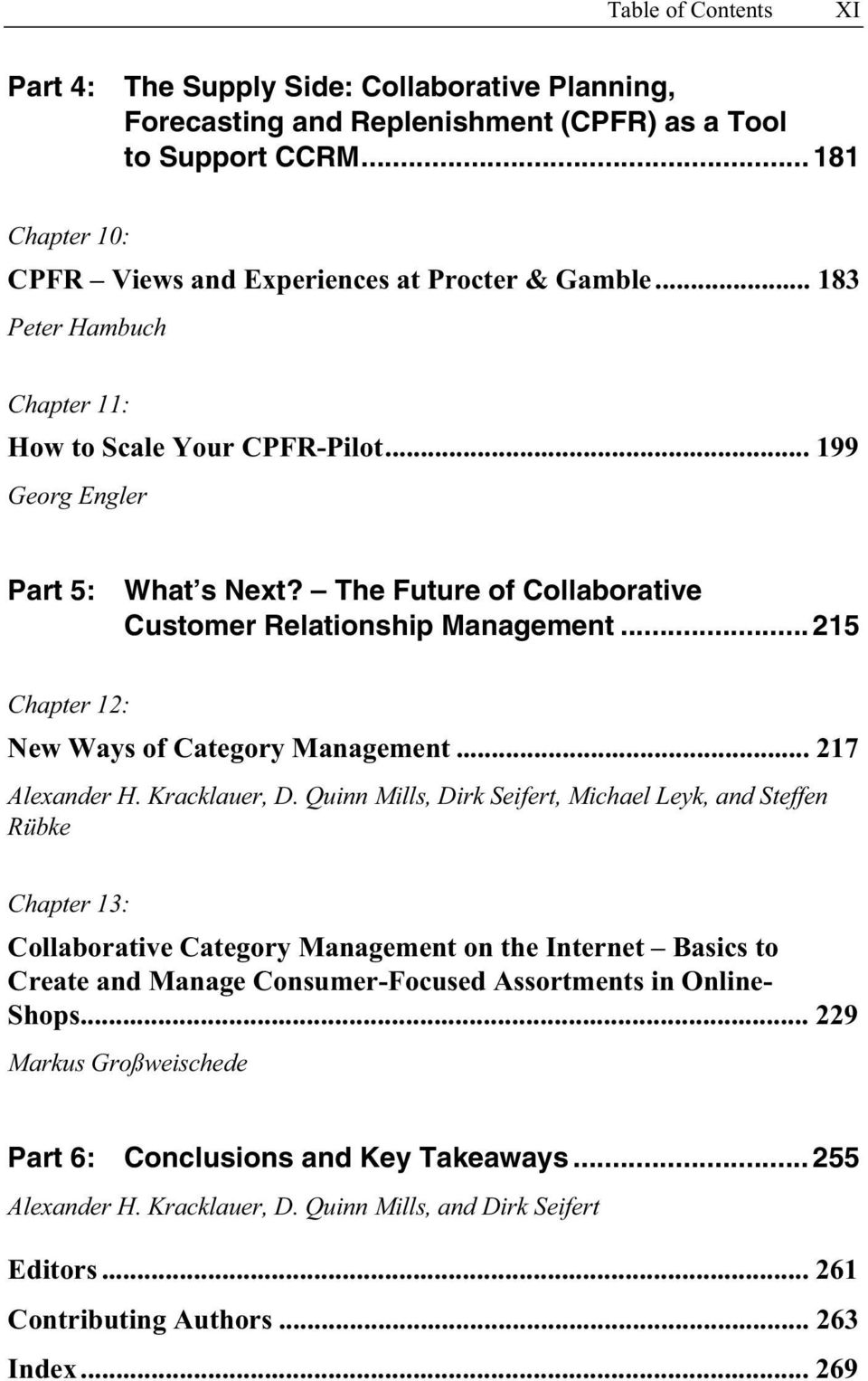 Collaborative customer relationship management pdf for Armin heinzl