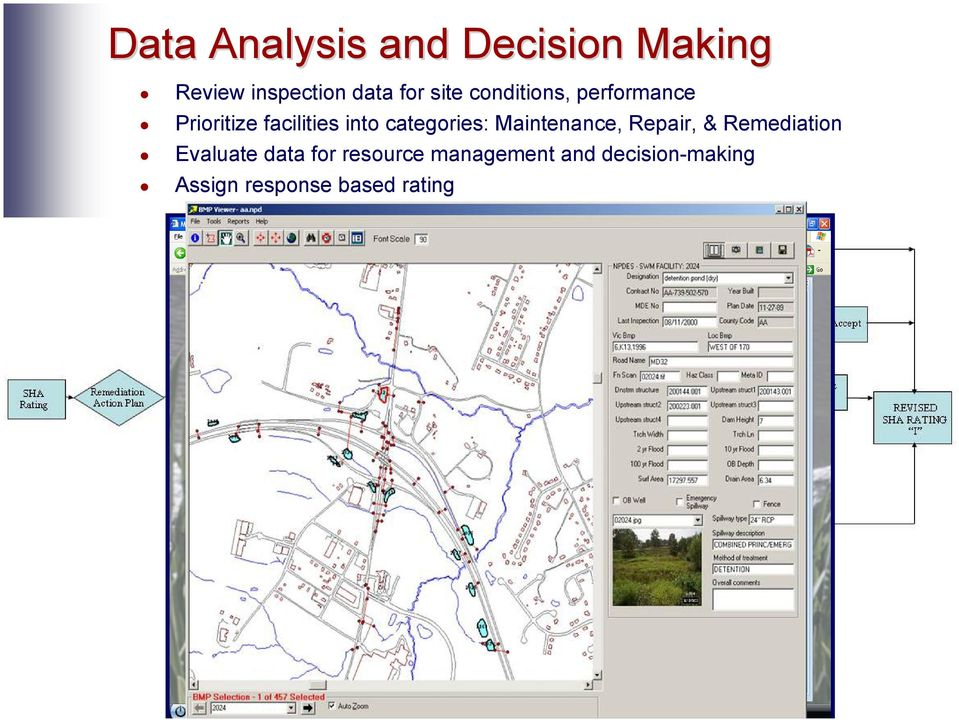 categories: Maintenance, Repair, & Remediation Evaluate data