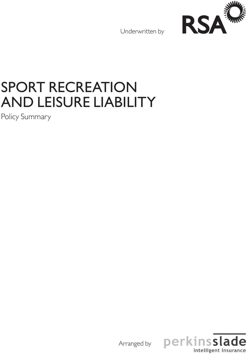 Leisure Liability