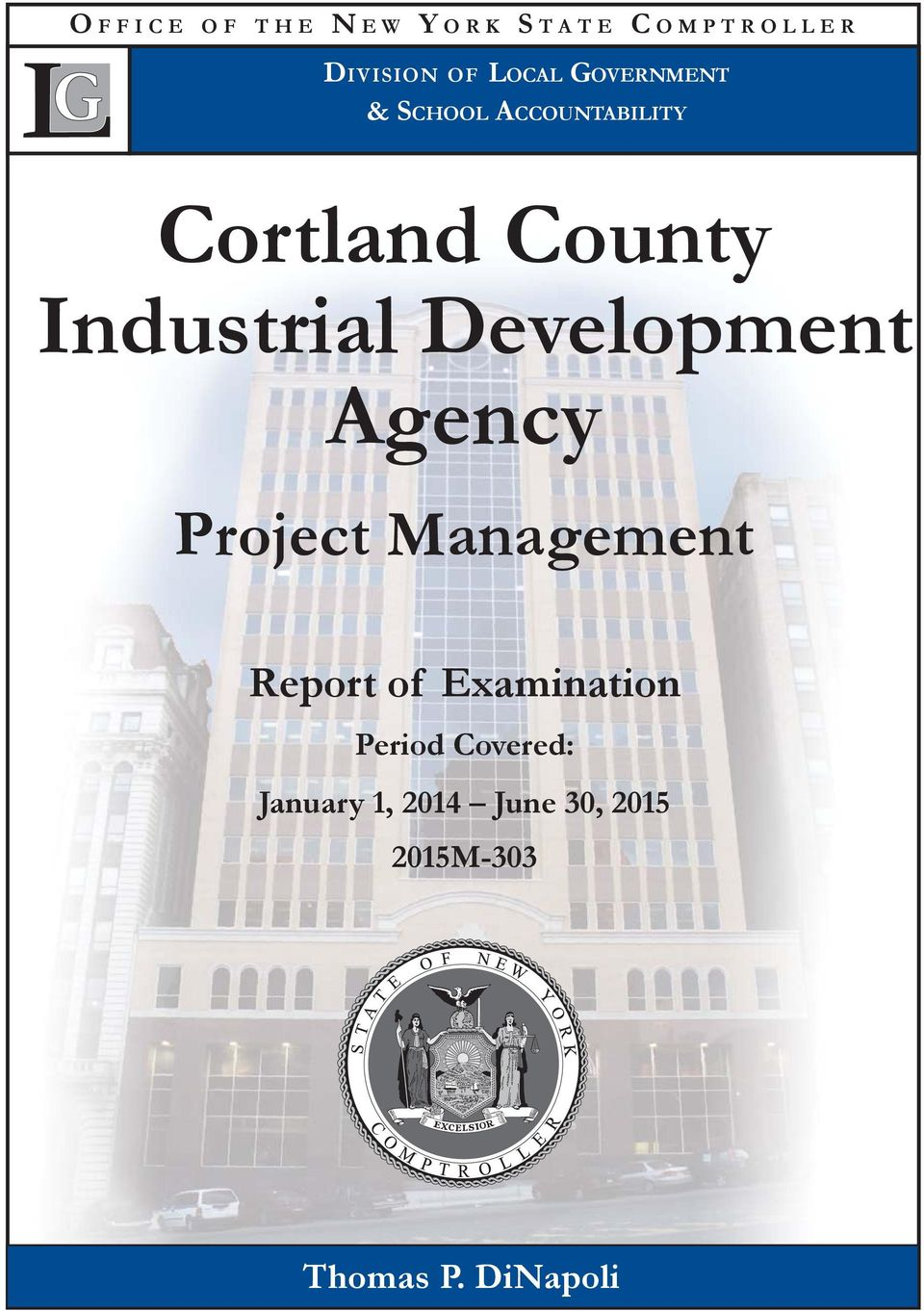 Development Agency Project Management Report of Examination