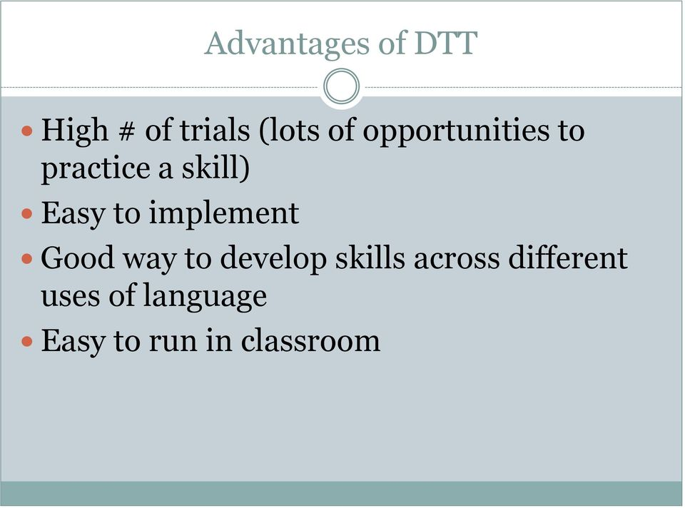 implement Good way to develop skills across
