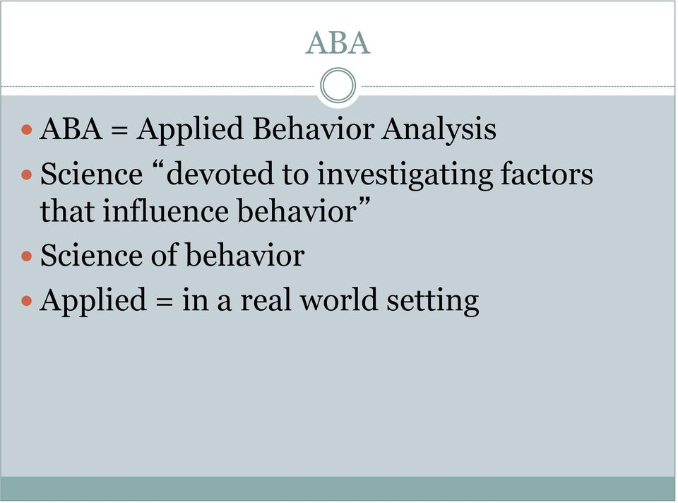 factors that influence behavior