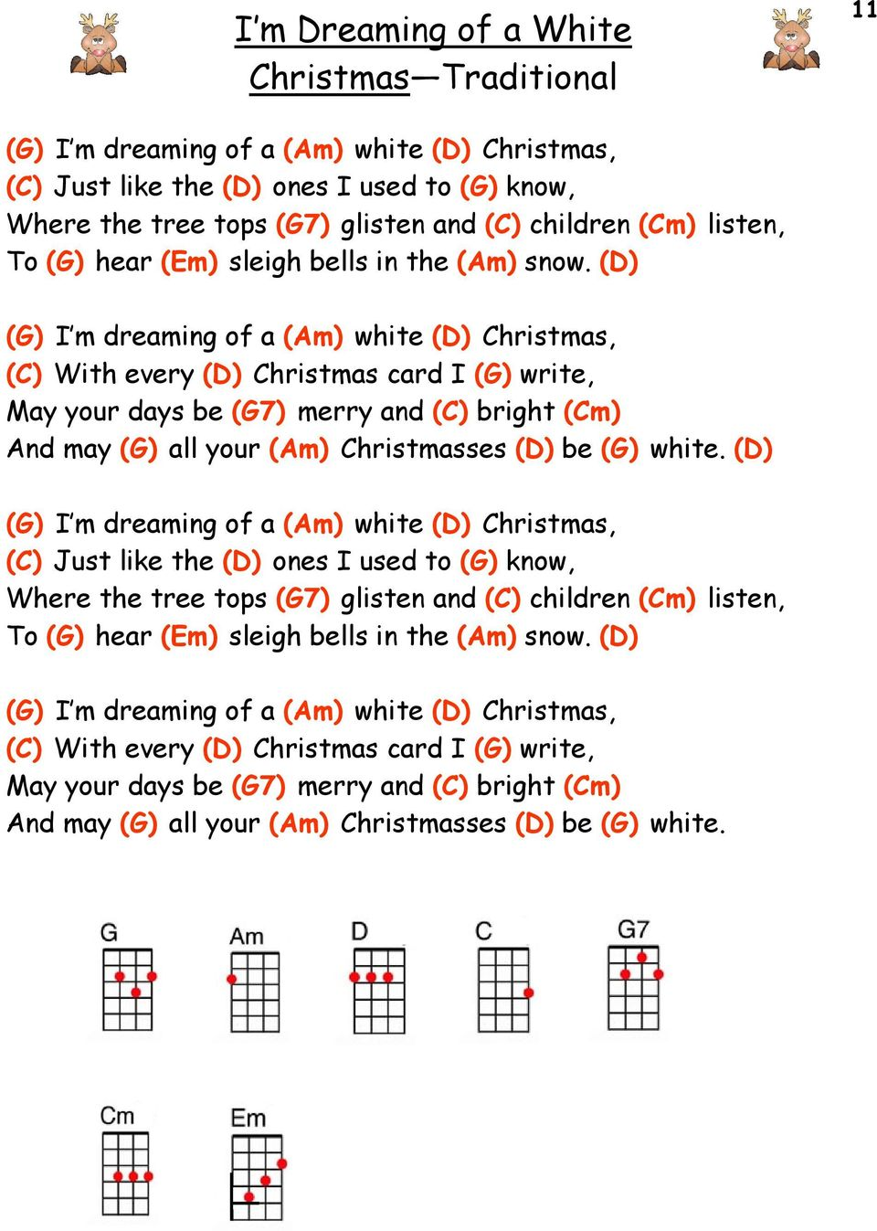 The Christmas Ukulele Songbook - PDF