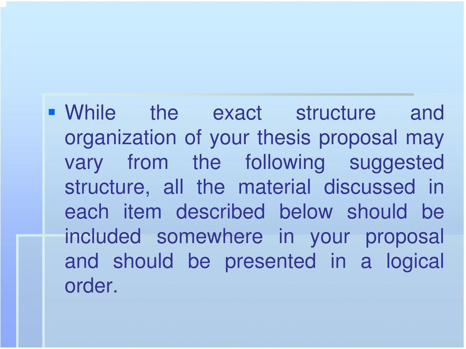 material discussed in each item described below should be