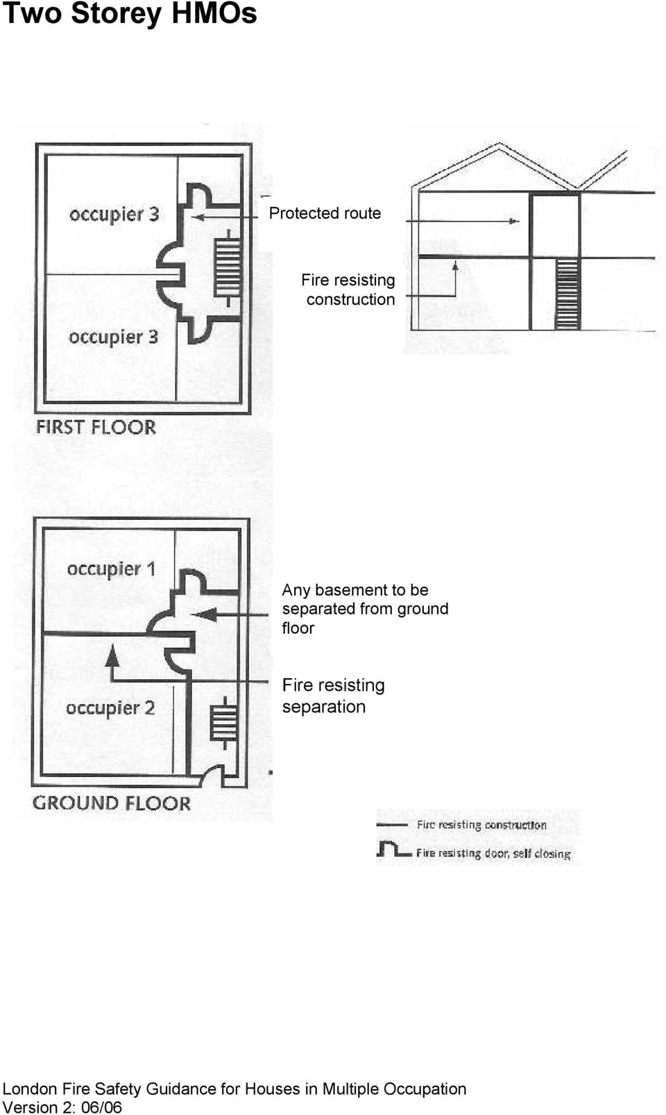 basement to be separated from