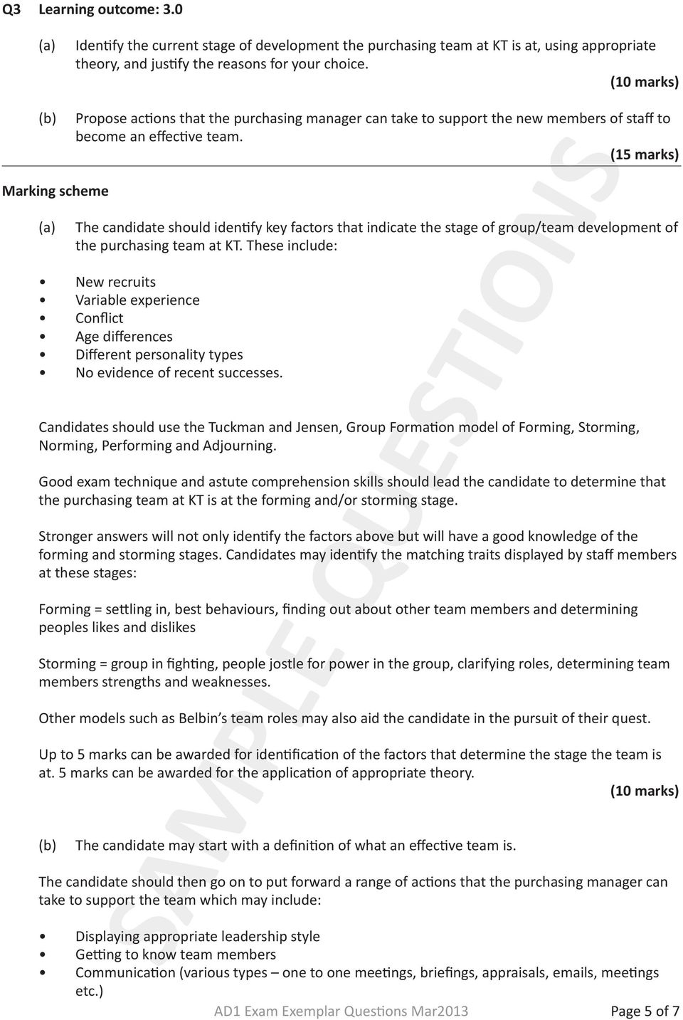 Purchasing management discussion questions