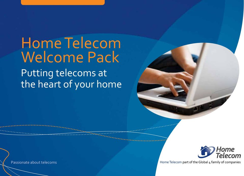 Passionate about telecoms Home