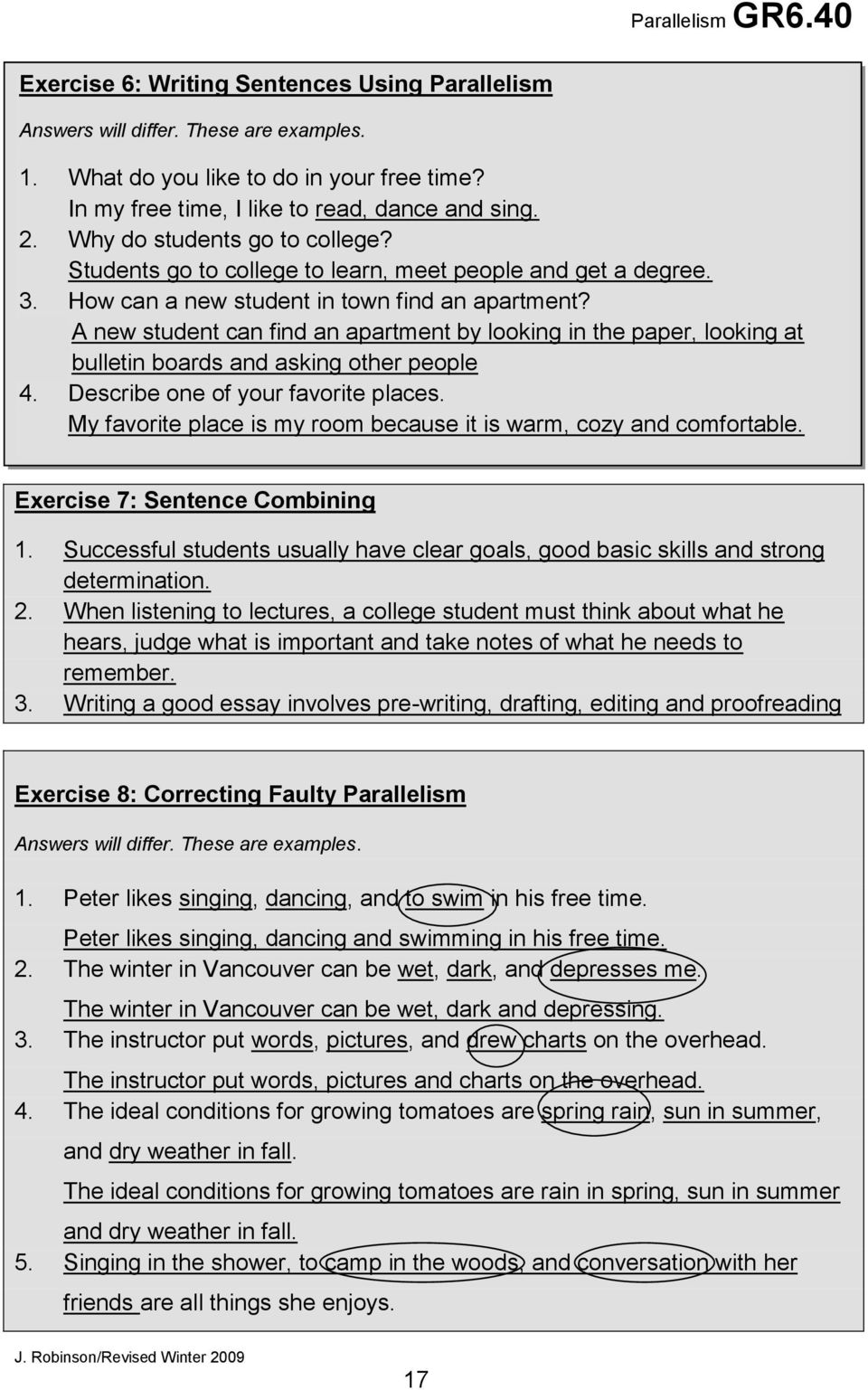 describing people essay learning centre parallelism pdf write  learning centre parallelism pdf a new student can an apartment by looking in the paper looking write about a person you admire essay