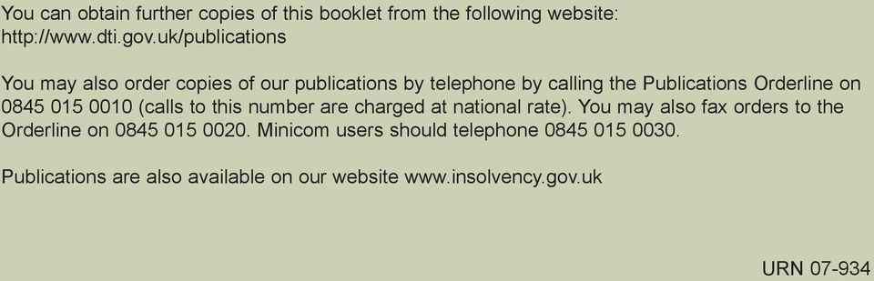 on 0845 015 0010 (calls to this number are charged at national rate).