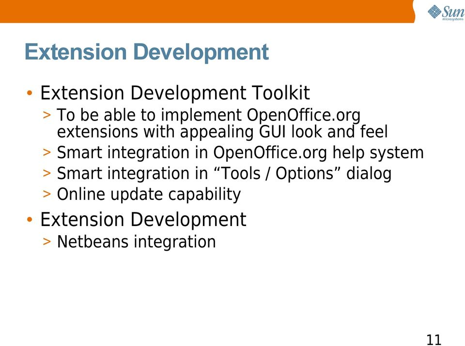org extensions with appealing GUI look and feel > Smart integration in