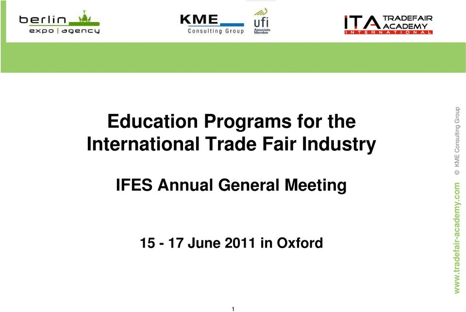 Industry IFES Annual General
