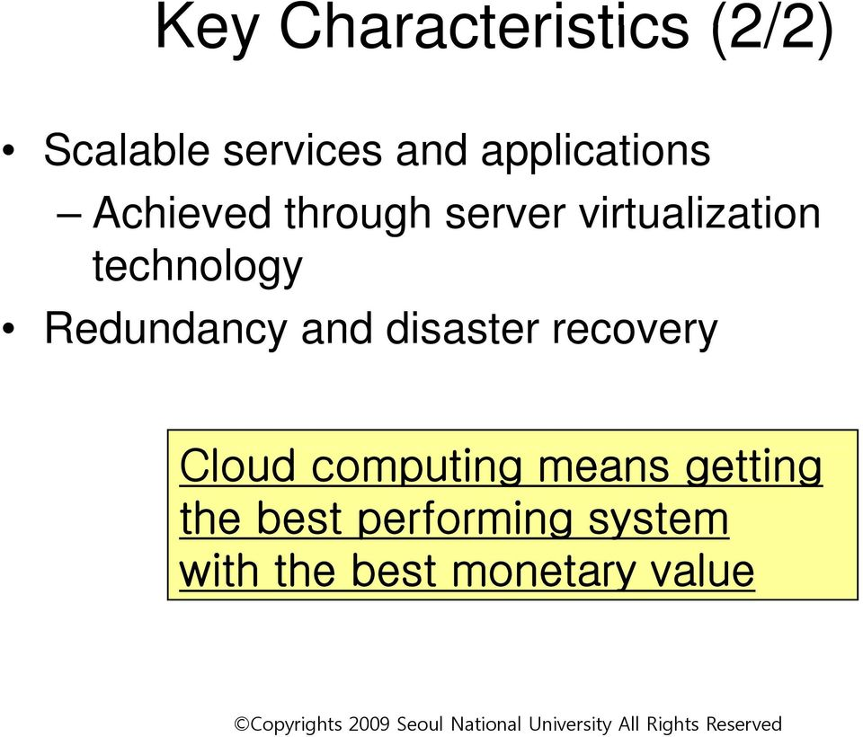 technology Redundancy and disaster recovery Cloud