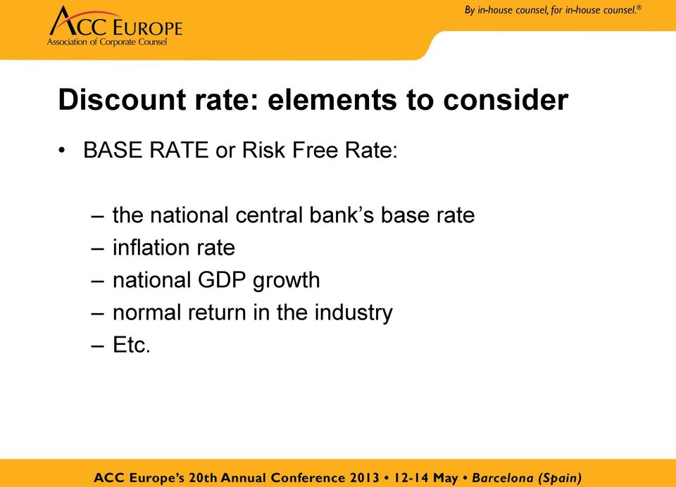 central bank s base rate inflation rate
