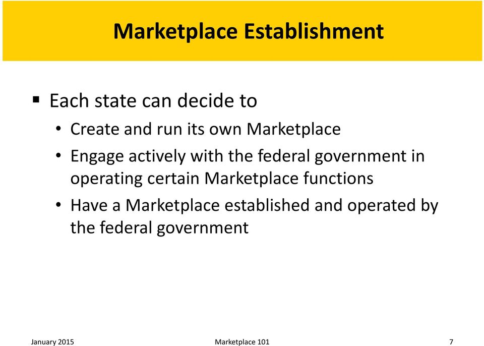 operating certain Marketplace functions Have a Marketplace