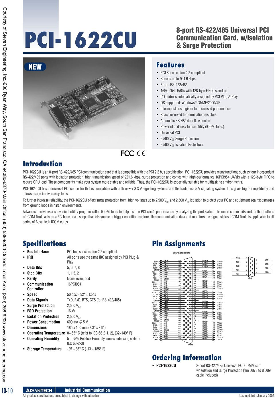 Industrial Communication Pdf Usb To Serial Surge And Optical Isolation Converter Rs422 485 Operating Temperature 0 C Refer Iec