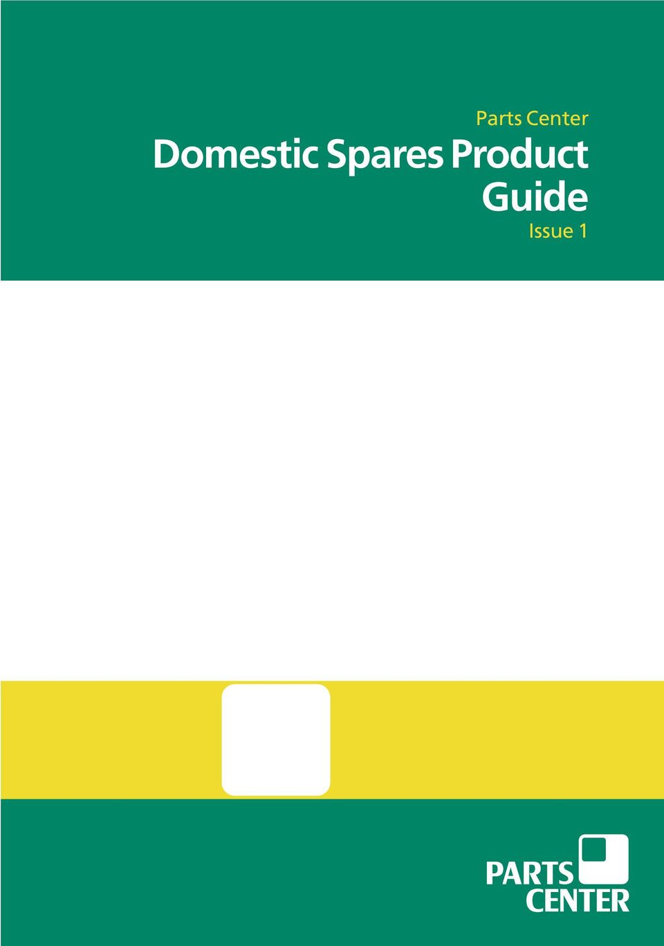 Domestic Spares Product Guide - PDF