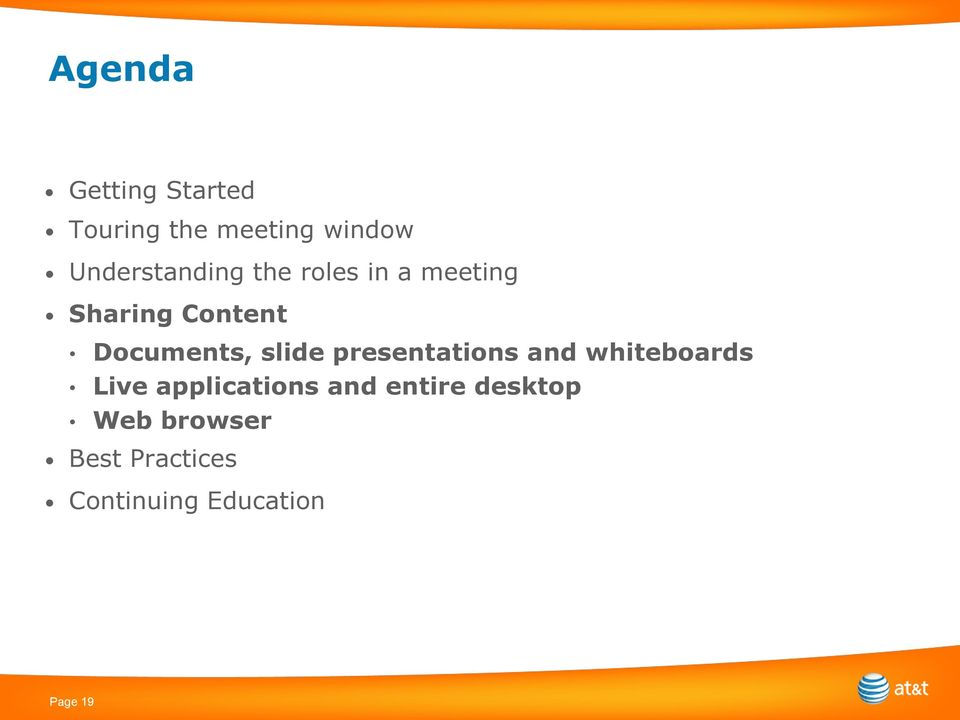Documents, slide presentations and whiteboards Live
