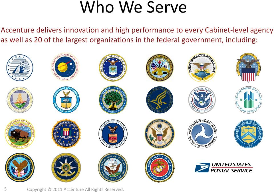 of the largest organizations in the federal government,