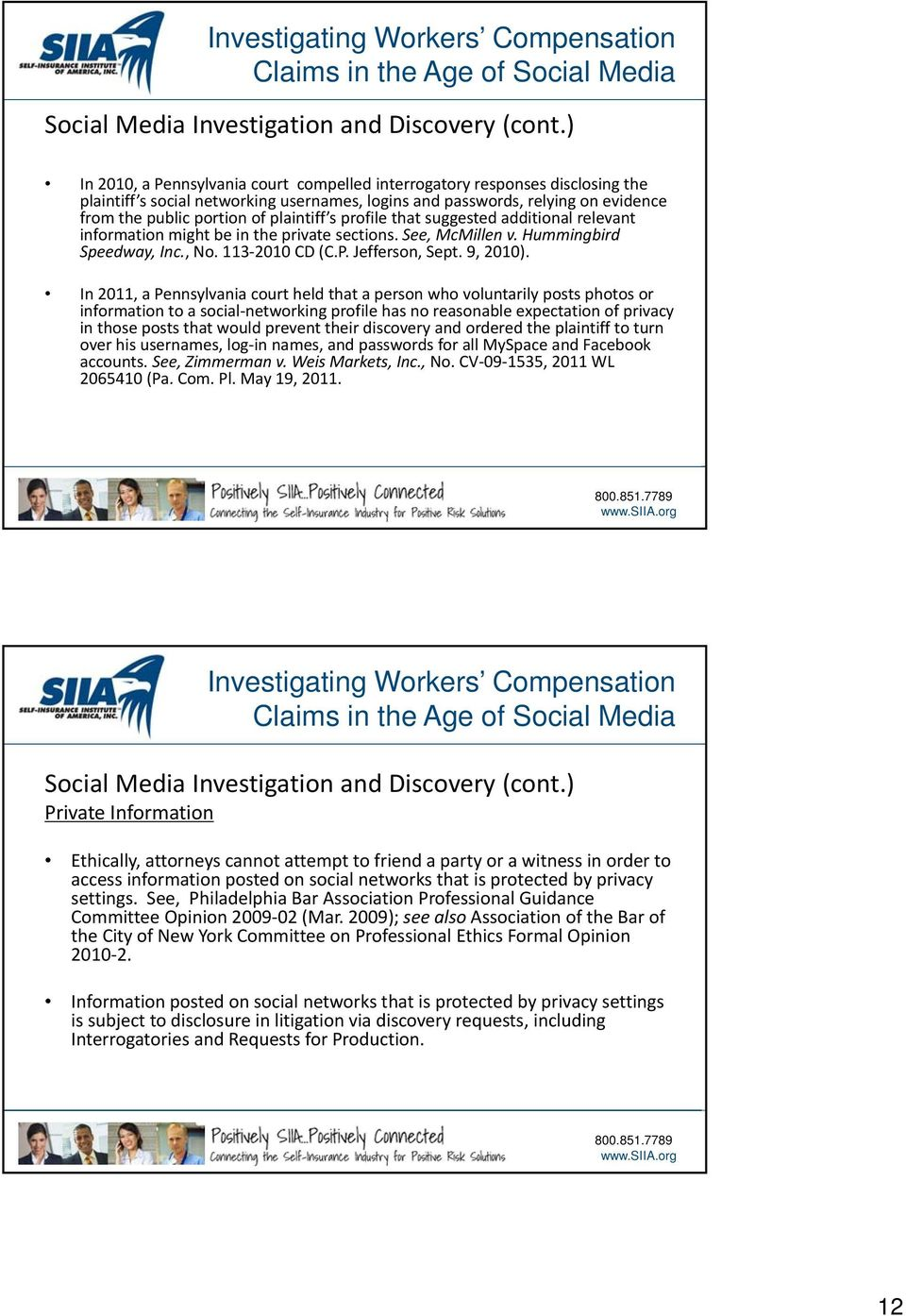 Investigating Workers Compensation Claims in the Age of Social Media