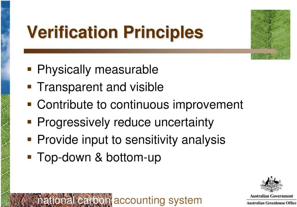 improvement Progressively reduce uncertainty