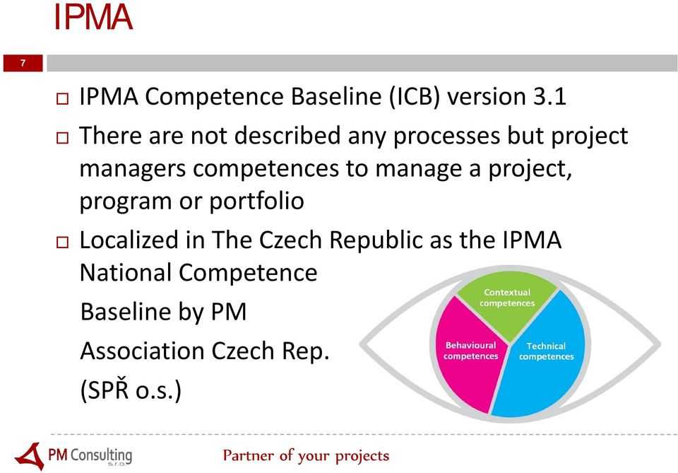 competences to manage a project, program or portfolio Localized in