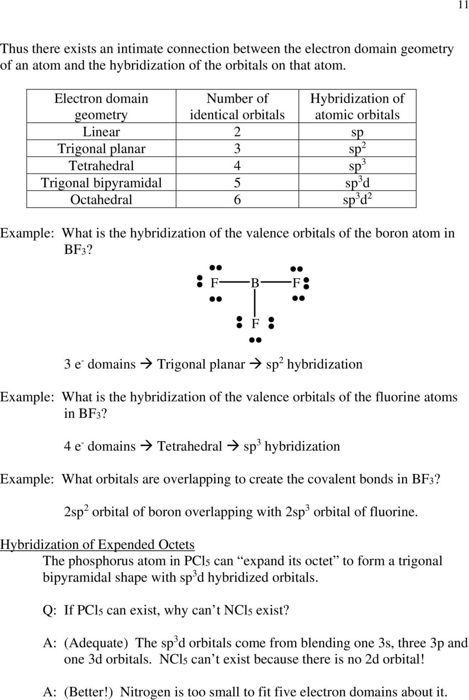 What is the hybridization of the valence orbitals of the boron atom in B3?