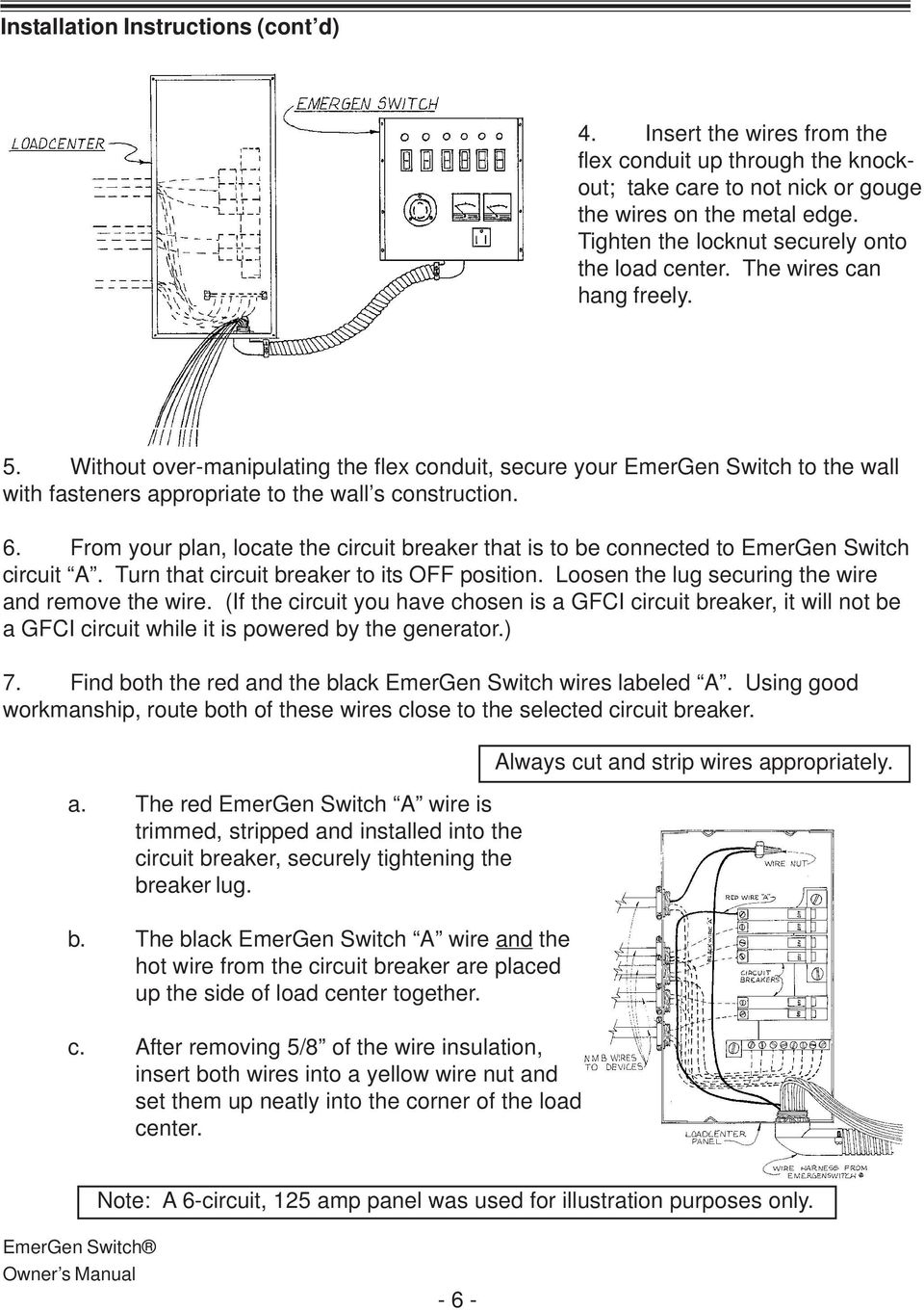 emergen transfer switch wiring diagram