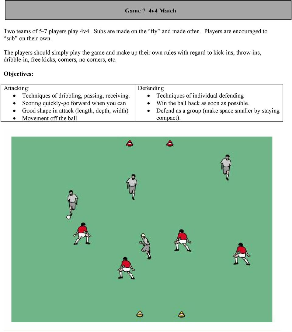The players should simply play the game and make up their own rules with regard to kick-ins,