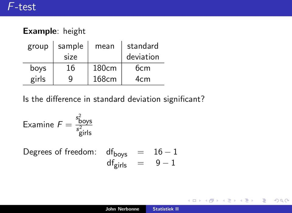 difference in standard deviation significant?