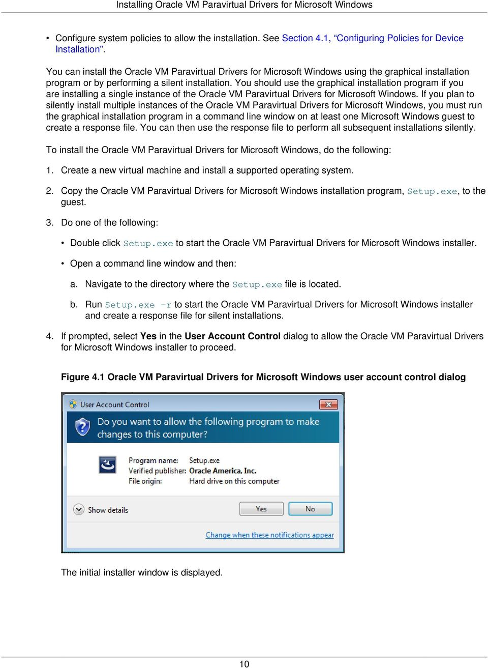 Oracle VM  Paravirtual Drivers for Microsoft Windows Release PDF
