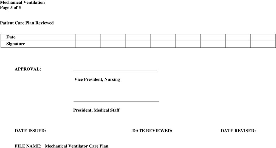 President, Medical Staff ISSUED: REVIEWED:
