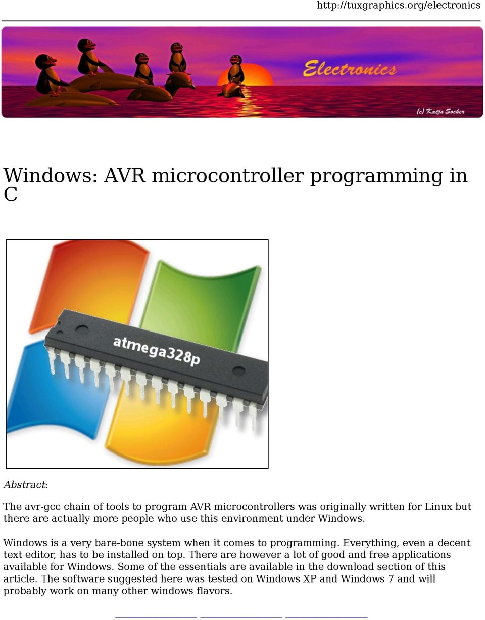 C Programming Software For Windows 7 Free Download
