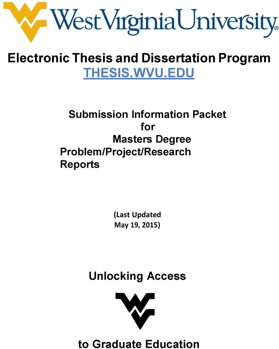 Theses and Dissertations