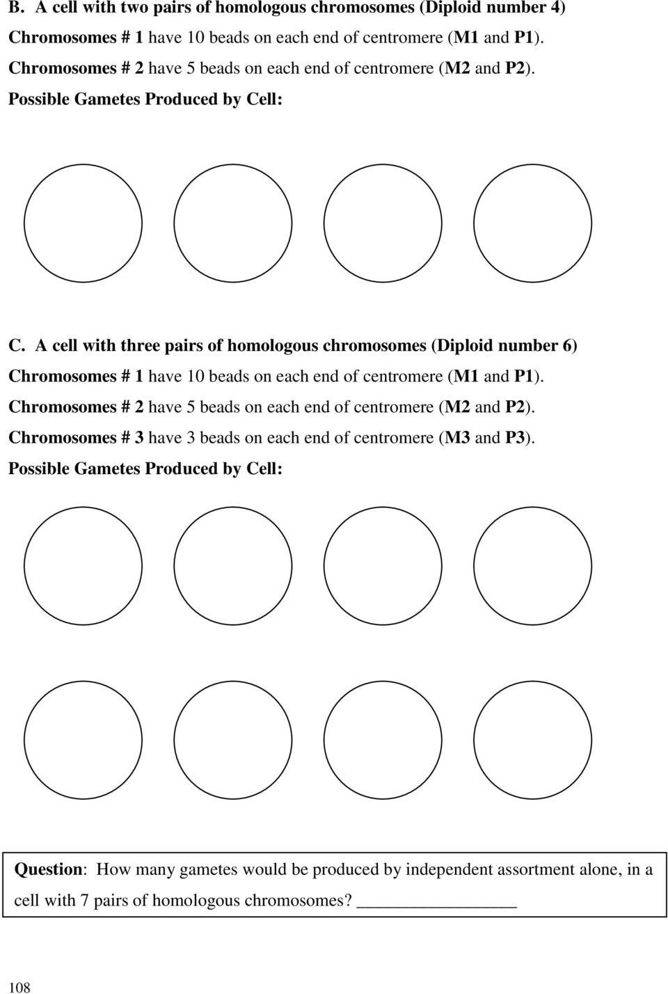 worksheet Onion Cell Mitosis Worksheet Answers lab 8 eukaryotic cell division mitosis and meiosis pdf a with three pairs of homologous chromosomes diploid number 6 1