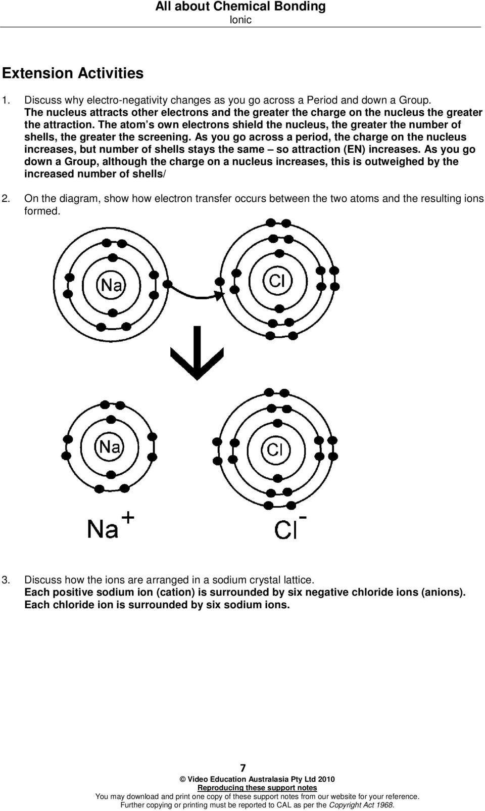 The atom s own electrons shield the nucleus, the greater the number of shells, the greater the screening.