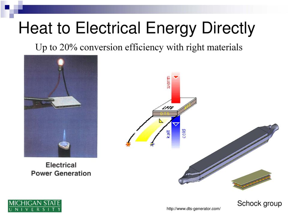 Direct Energy Conversion: Chemistry, Physics, Materials