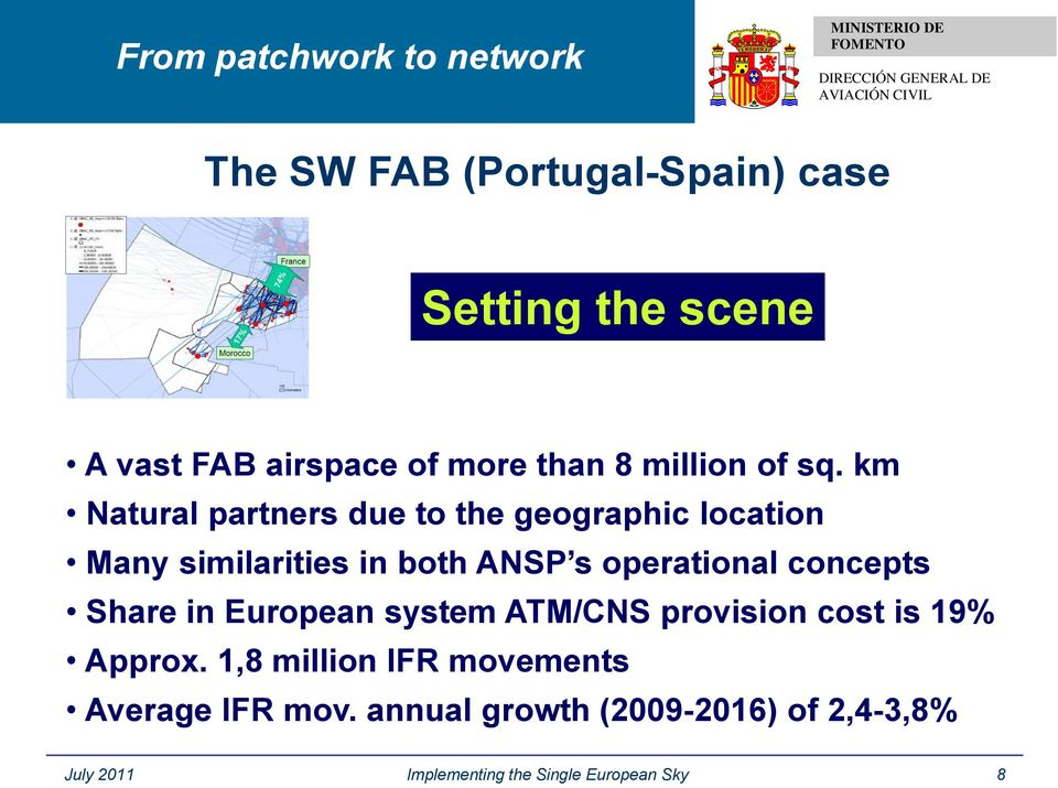 concepts Share in European system ATM/CNS provision cost is 19% Approx.