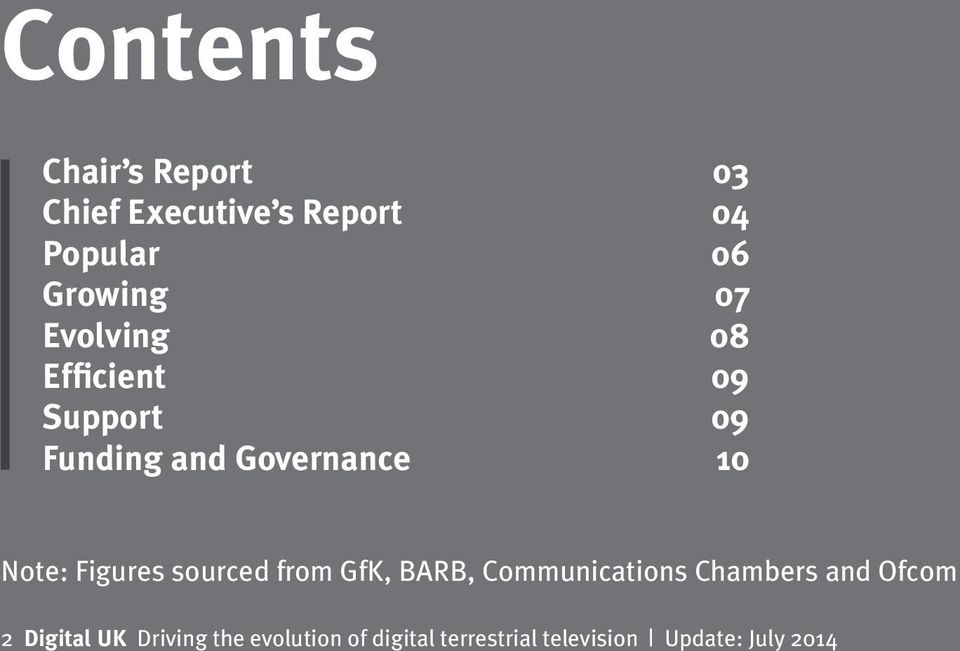 Figures sourced from GfK, BARB, Communications Chambers and Ofcom 2