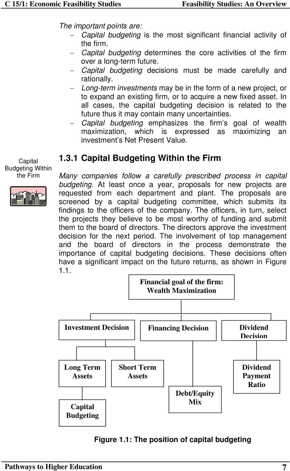 In all cases, the capital budgeting decision is related to the future thus it may contain many uncertainties.