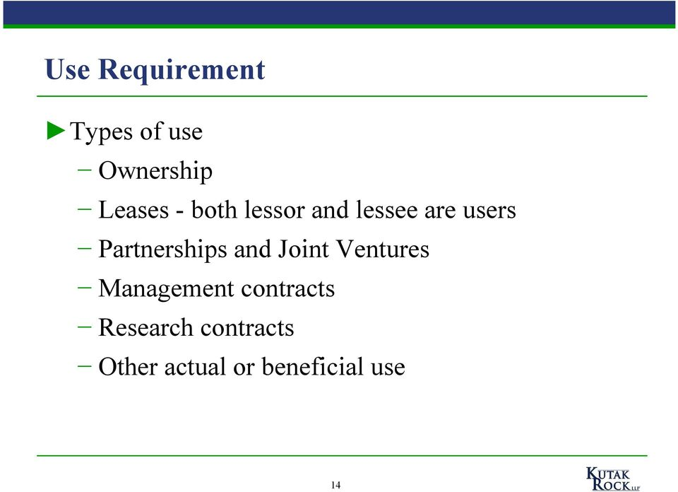 Partnerships and Joint Ventures Management