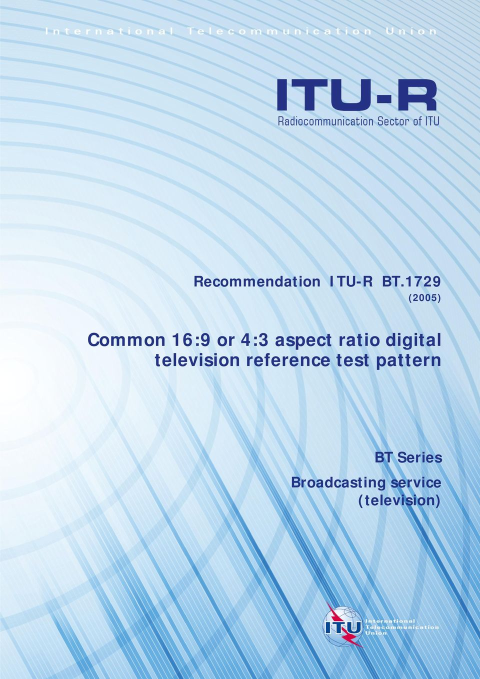ratio digital television reference