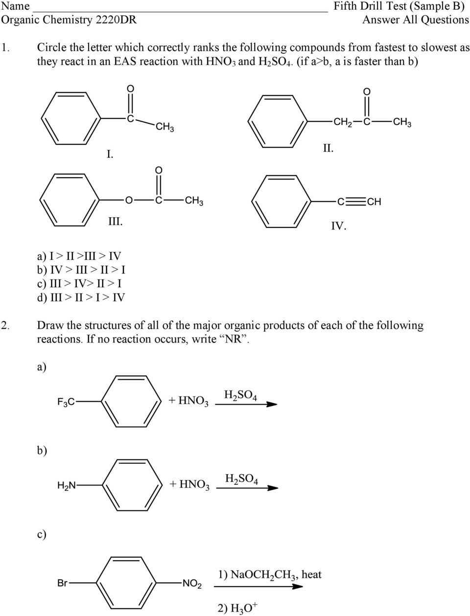 reaction with HNO 3 and H 2 SO 4.